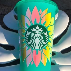 NEW! Custom Sunflower Starbucks Coffee Venti Cup